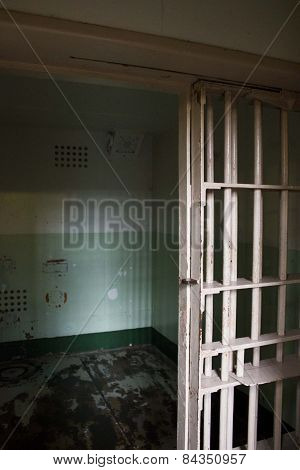 Close Up Of An Empty Cell