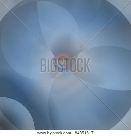 Abstract Background From Circles. Wall-paper.
