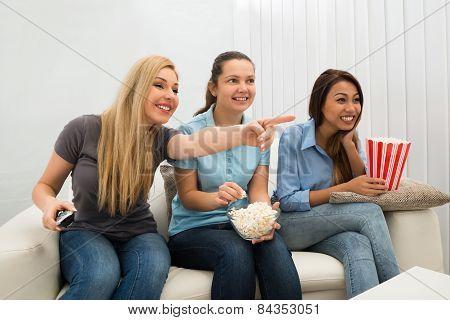 Women Watching Television