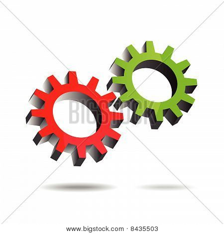 Gears turning