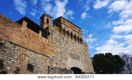 San Gimignano In Italy
