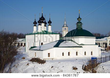Church Of The Entry Into Jerusalem And Pyatnitskaya Church, Suzdal