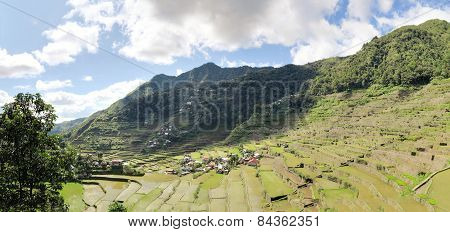 UNESCO Rice Terraces in Batad, Philippines