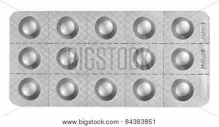 Blister Packet Of Pills