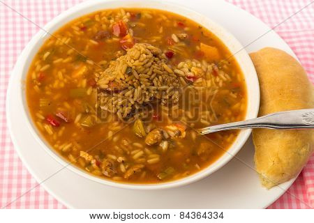 Chicken Gumbo With Dirty Rice