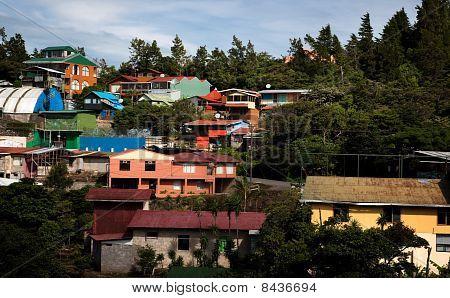 Buildings On A Hillside In Santa Elena