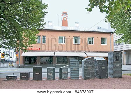 Pori. Finland. Fire Station