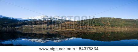 Loch Lubnaig, Scottland, Uk