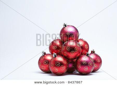 Christmas Bauble Pile