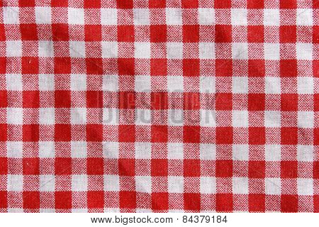 Checkered texture.