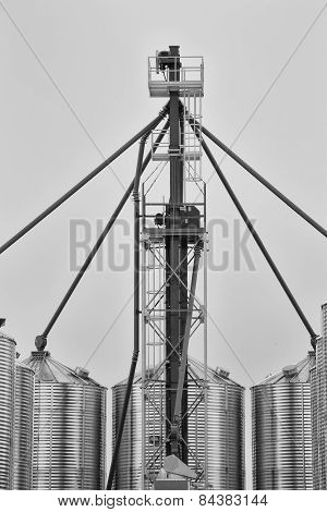 Grain Augering system