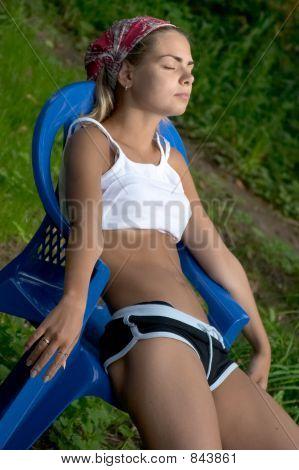 Garota verão
