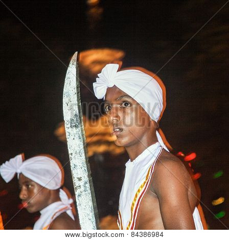 Dancer Participates The Festival Pera Hera In Kandy