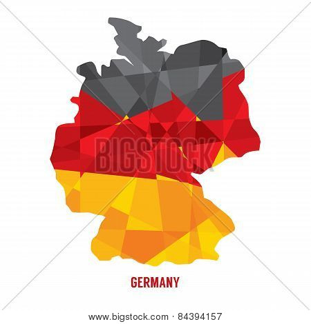 Map Of Germany.