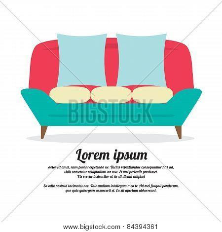 Vintage Sofa.