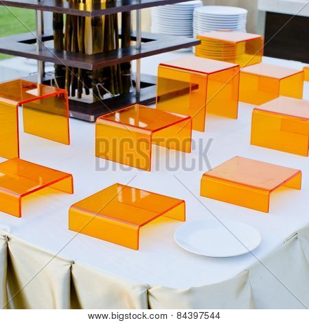 Finger Food Stand Display - Ready To Serve