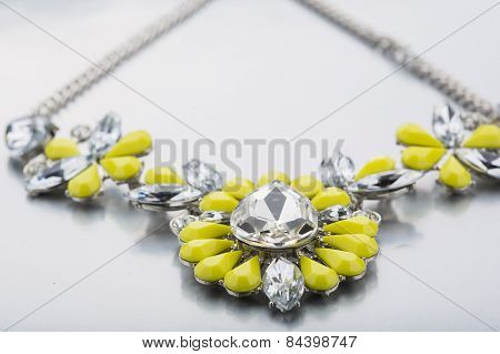 plastic necklace