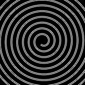 pic of psychodelic  - Volute spiral concentric lines circular motion rotating background - JPG