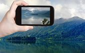 picture of bavarian alps  - travel concept  - JPG