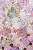 Постер, плакат: Ukrainian money