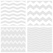 foto of chevron  - Tile vector chevron pattern set with white and grey zig zag background for seamless decoration wallpaper - JPG