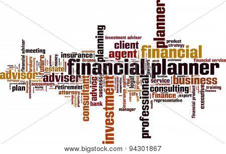 Financial Planner Word Cloud