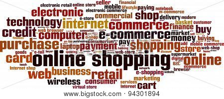 Online Shopping Word Cloud