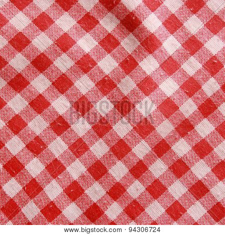 And White Checkered Picnic Blanket.