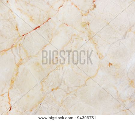Cream Marble With Natural Pattern.