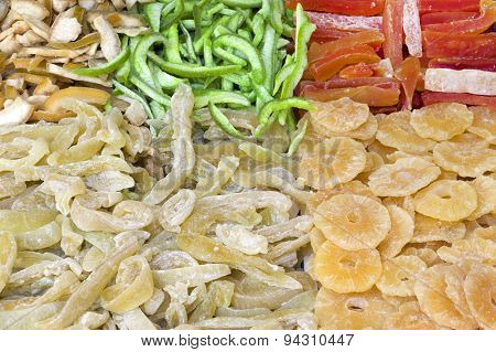 Dried fruits mix