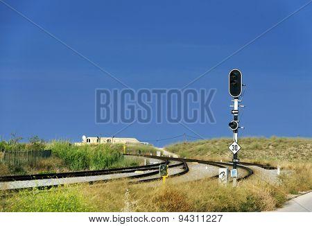 Railway station of Lagos, Portugal, Europe