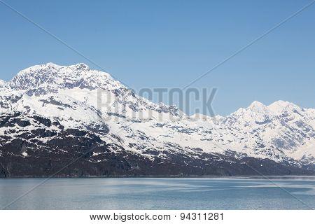 The Mountains of Alaska's Glacier Bay
