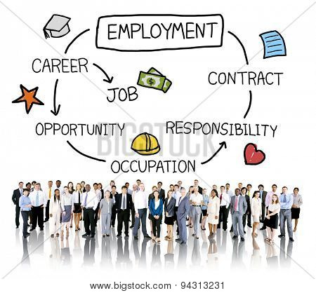 Employment Career Occupation Job Contract Concept