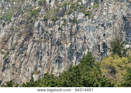 Closeup Of Sanbangsan Mountain