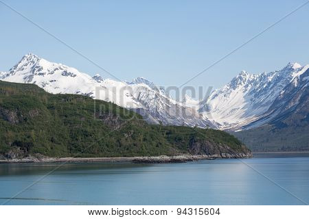 Mountainous Glacier Bay