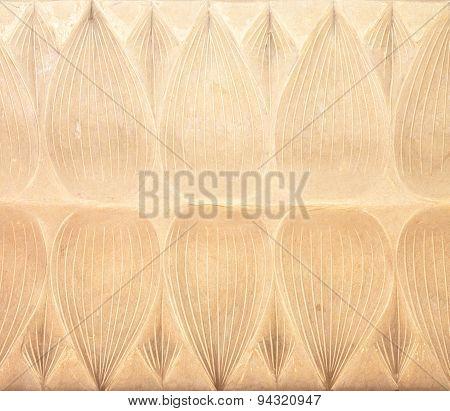 Lotus Stucco Background