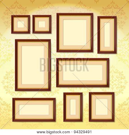 Dark Wood Frames