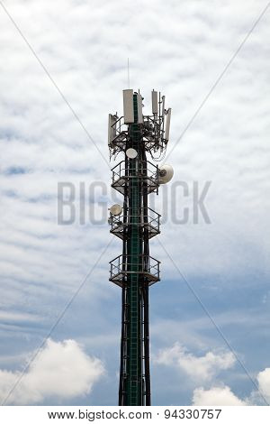 Cellphone Tower Portrait Format