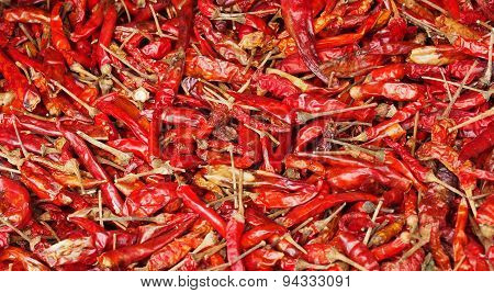 dried chilli.