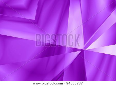 Abstract Light Mirror Shape Purple Color Background.