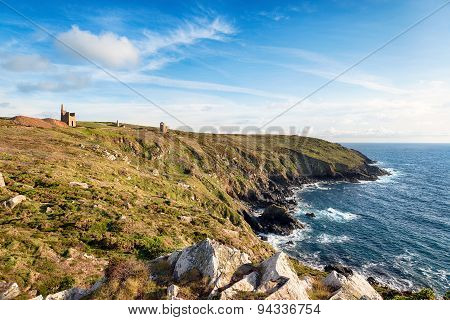 Tin And Copper Mines At Botallack