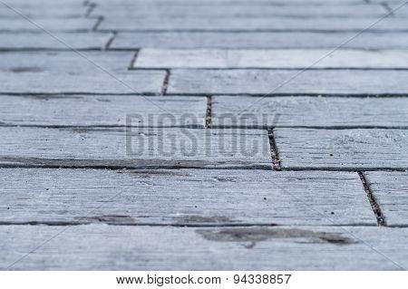 Grey Tiles Street Road, Abstract Floor Background