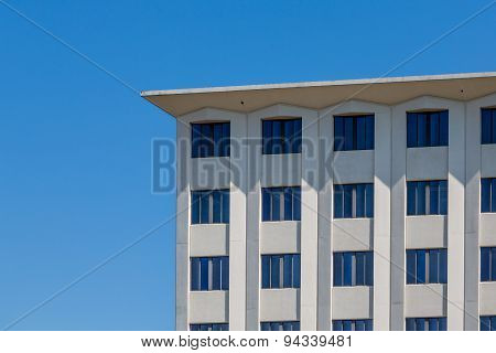 Square Stone Building Under Clear Blue Sky