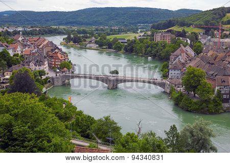 Bridge between  Germany and Switzerland