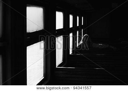 Passenger In Train