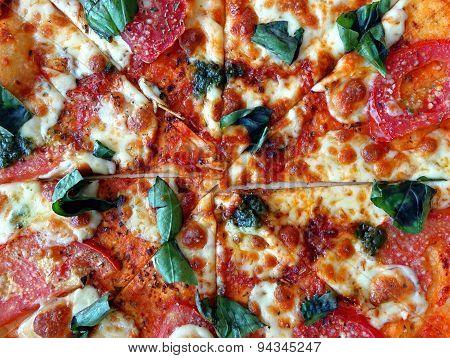 Delicious Pizza Margherita