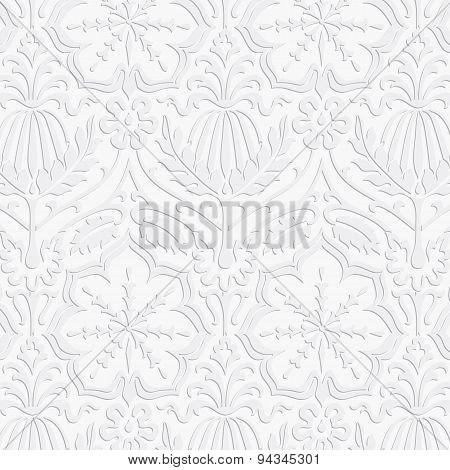 Paper Damask Pattern