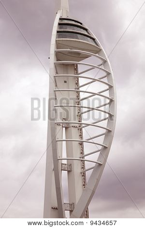 Spinnaker Tower in Portsmouth, England