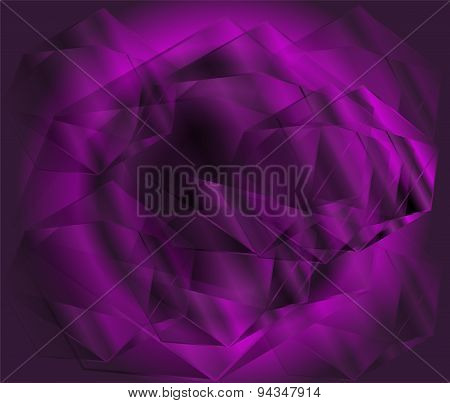 Crystal background design template abstract