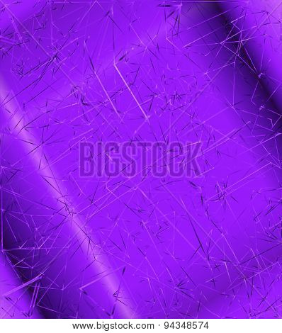 Purple Background with polygonal abstract shapes, lines, triangles